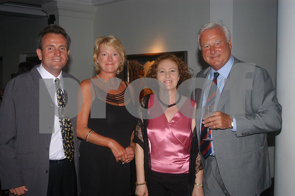 Robin Reap with friends at the Lady Taveners La Manga Club Event, 14th June 2004