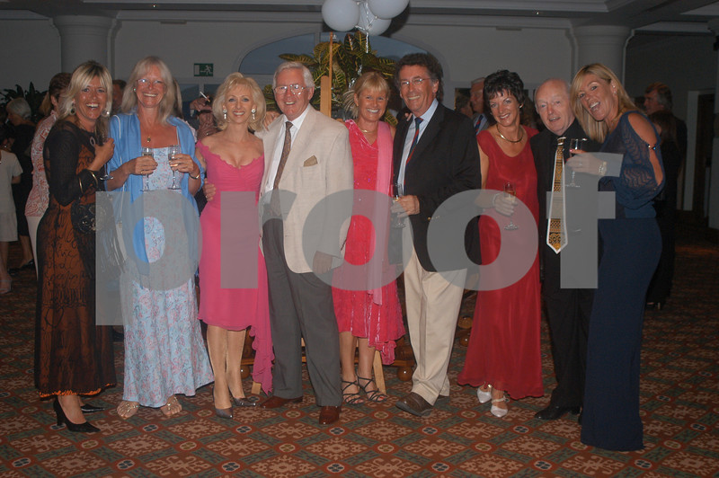 Paul and Debbie Daniels with Alex Hay, Robert Powell and friends at the Lady Taveners La Manga Club Event, 14th June 2004