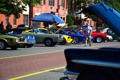 6/18/2016 Mike Orazzi | Staff The 7th Annual Bill Englert Memorial Auto Show in Bristol on North Main Street sponsored by TEAM Bristol.