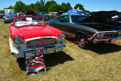 6/18/2016 Mike Orazzi | Staff A 1961 Nash Metropolitan during the annual Klingberg Auto Show in New Britain on Saturday.