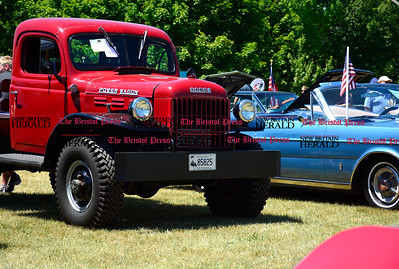 6/18/2016 Mike Orazzi | Staff A 1948 Dodge Power Wagon during the annual Klingberg Auto Show in New Britain on Saturday.