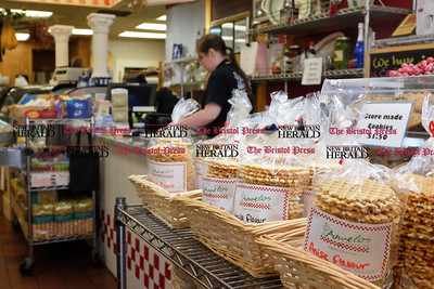 060916 Wesley Bunnell | Staff  Angelo's Market in New Britain has won a Best of Award for 2016.  Store made cookies near the front register.
