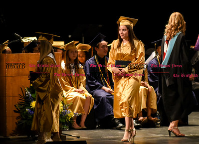 061016 Wesley Bunnell | Staff  The Oakdale Theater in Wallingford was the scene for the 2016 Newington High School Graduation.