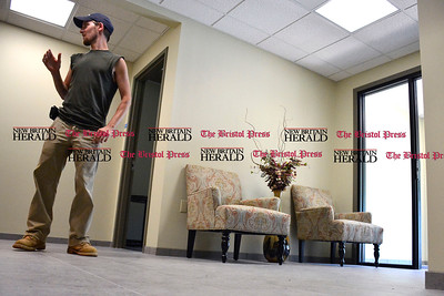 6/16/2016 Mike Orazzi | Staff Tony D'Amato at The Executive Suites at Northside Square in Bristol on Thursday.