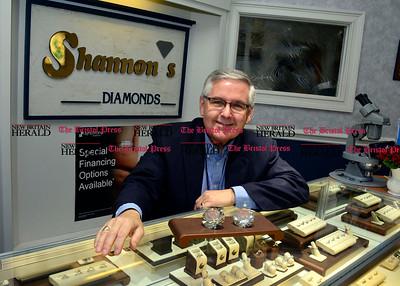 6/17/2016 Mike Orazzi | Staff Scott Fournier at Shannon's Diamonds & Fine Jewelry.