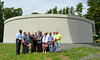 061716 Photo by David Huck<br /> <br /> A new 2 million gallon water tank was installed in the Elam Street tank & pump station. The ribbon cutting ceremony took place on Friday morning. From L Alderman Tremell Collins, Alderman Robert Smedley, Water Director Gil Blight & Mayor Erin Stewart.