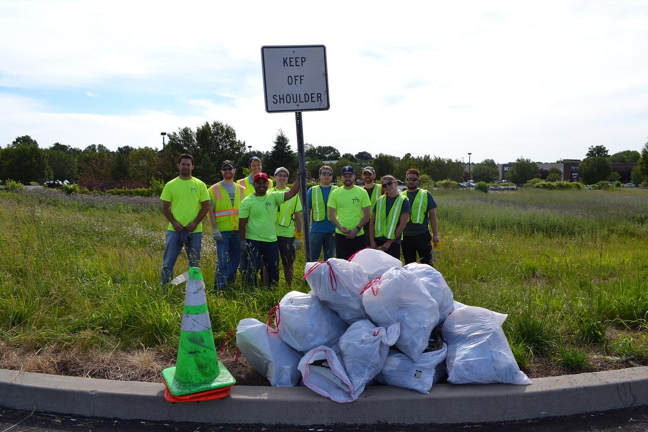 June 2016: Spring/Summer Adopt-a-Highway Cleanup