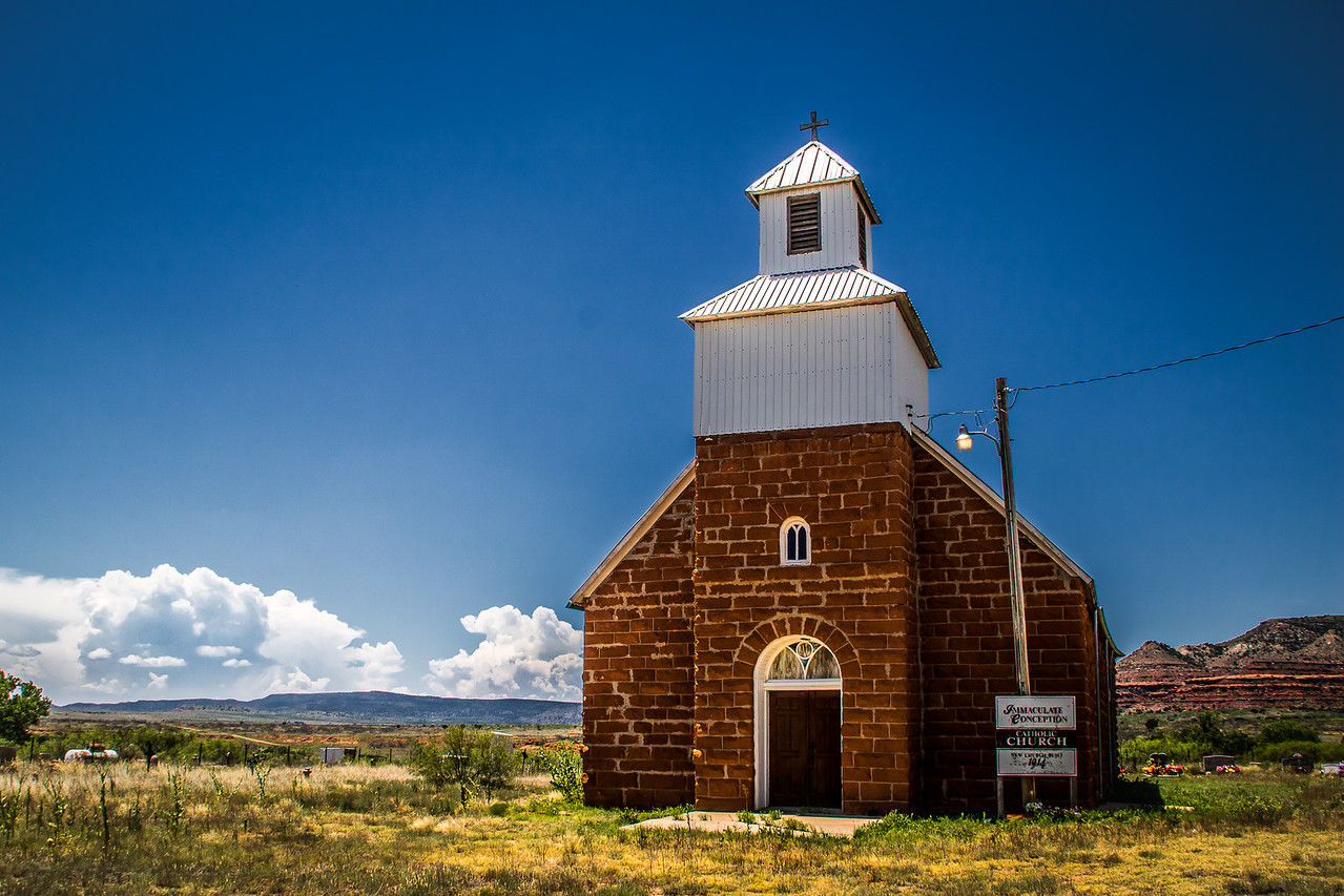 Old Church, Harding County New Mexico