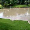 Barton Springs Pool flooded