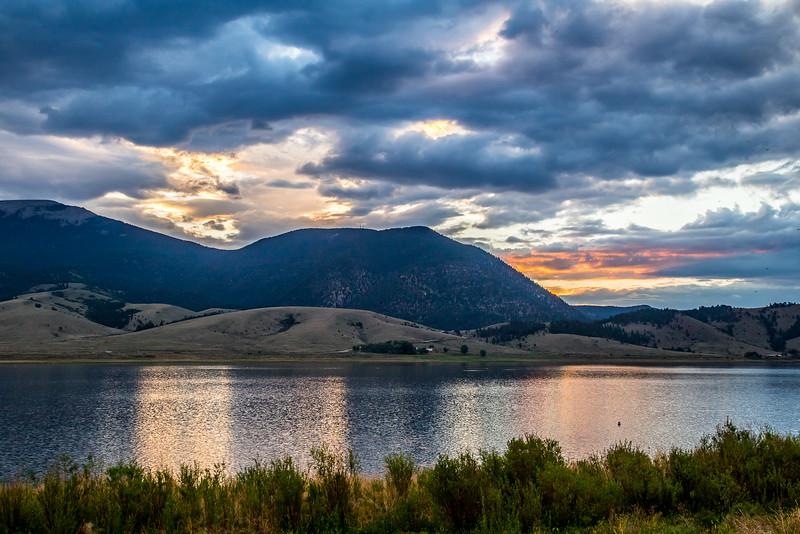 Eagle Nest Lake Before Sunrise