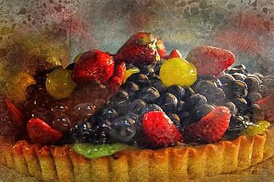 Fruit Flan.