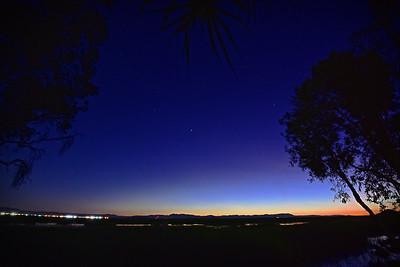Townsville Common, Winter Evening.