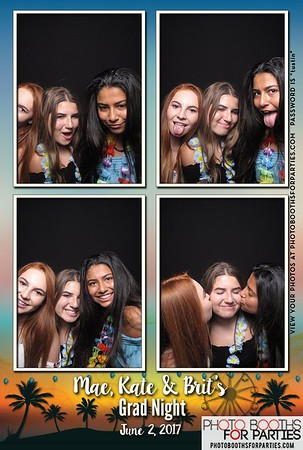 Mae, Kate & Brit's Grad Night