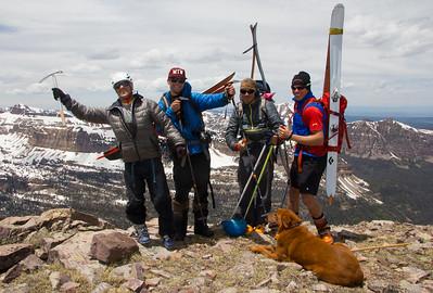 Summit Shot Spread Eagle Peak