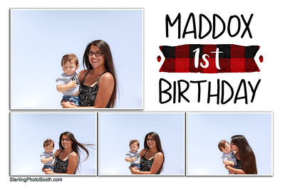 Maddox's 1st Birthday