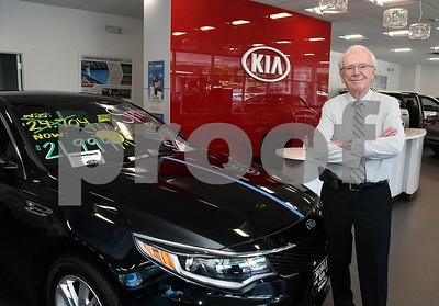 6/14/2017 Mike Orazzi | Staff Ken Crowley in the KIA dealership in Bristol.