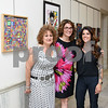 061417  Submitted photos from Stanley<br /> <br /> The New Britain High School Art Show & Satellite Career Academy Photography Exhibition held an opening reception on Wednesday evening at city hall. Art teacher Andrea Russo, L, Fine Arts Department Chair Karen Soccodato & art teacher Kelly LaVette.