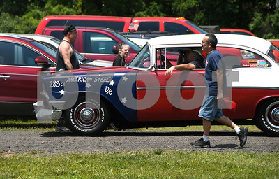 6/10/2017 Mike Orazzi | Staff James Copeland during the Wings and Wheels Festival at Robertson Airport in Plainville Saturday.