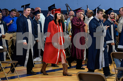 6/20/2017 Mike Orazzi   Staff Bristol Technical Education Center graduates during Tuesday's ceremony held at the Bristol Boys & Girls Club in Bristol.