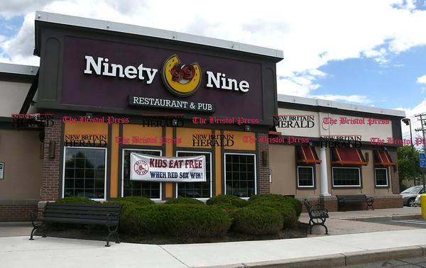 6/1/2017 Mike Orazzi | Staff The Ninety Nine Restaurant in Bristol.