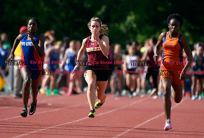 6/1/2017 Mike Orazzi | Staff The Class S Outdoor track meet in New Britain Thursday at Willow Brook Park.