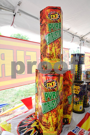 062917 Wesley Bunnell | Staff TNT Fireworks located at 1943 Berlin Turnpike in Berlin with fireworks for the upcoming 4th of July holiday.