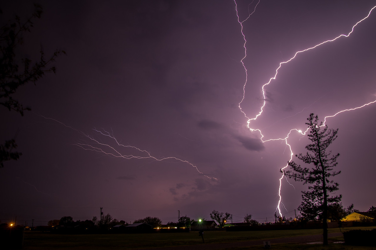 Multiple Lightning Bolts