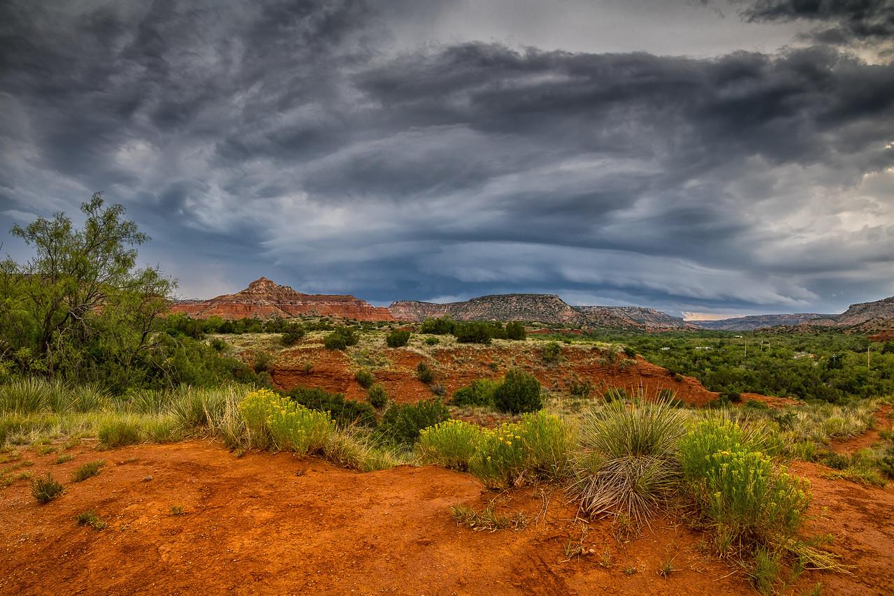 Approaching Storm, Palo Duro Canyon