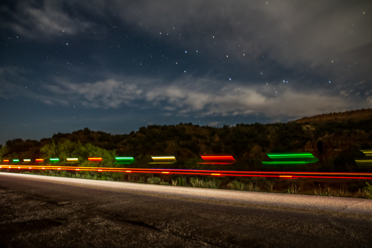 Bike Lights, 24 Hours in the Canyon