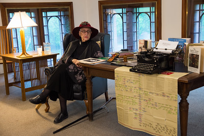 Helene Lang as Agatha Christie