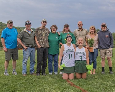 Girls LAX Senior Game 2018