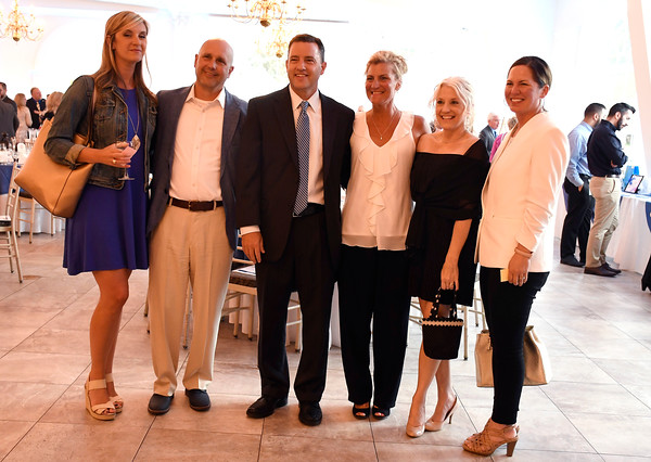 6/6/2018 Mike Orazzi | Staff Guests during the 129th Annual Bristol Chamber of Commerce Awards Dinner held at the Aqua Turf Club in Southington Wednesday night.