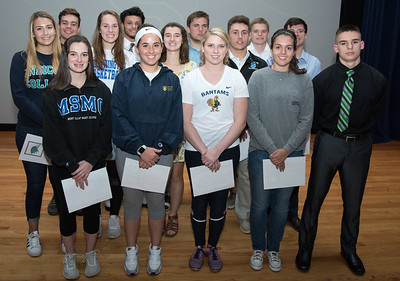 06/12/18  Wesley Bunnell | Staff  Southington High School held college signings on Tuesday afternoon for 15 student athletes committed to playing college sports.