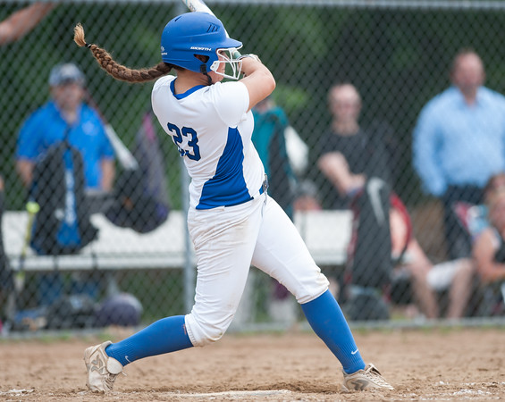 06/01/18 Wesley Bunnell | Staff Southington defeated South Windsor 1-0 on Friday afternoon to advance to the Class LL Semi Final Tournament game. Madison Rocha (23).