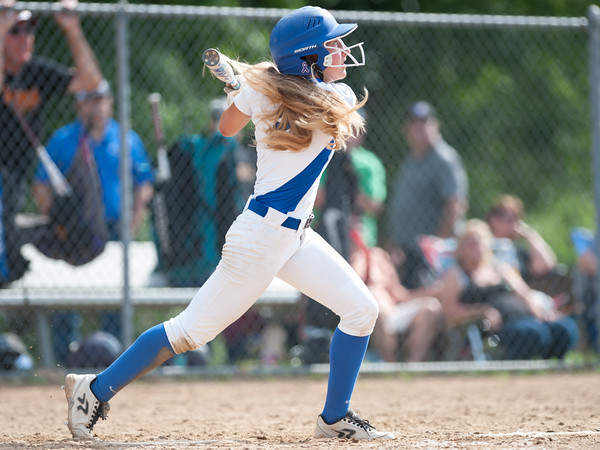 06/01/18 Wesley Bunnell | Staff Southington defeated South Windsor 1-0 on Friday afternoon to advance to the Class LL Semi Final Tournament game. Chrissy Marotto (2).