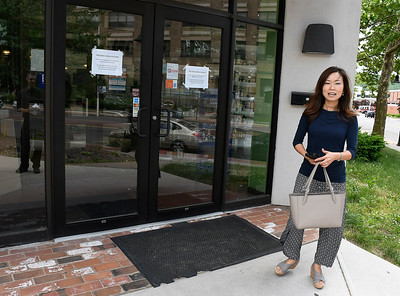 6/15/2018 Mike Orazzi | Staff Super Natural Market and Deli customer Lossa Lee outside the market on Friday. She had planned on picking up a graduation cake Friday.
