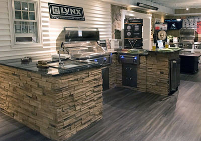Custom grill selections at CT Appliance and Fireplace.