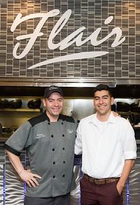 Chef -Owner Hector R. Delgado and son and co-owner Jose Delgado.