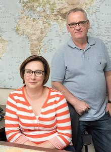 Co-owners of One Travel Dorota Chudz and husband Piotr Chudz.
