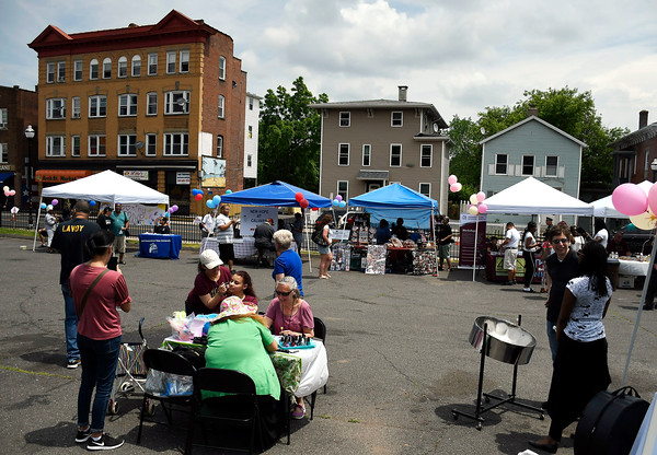 6/2/2018 Mike Orazzi   Staff The Arch Street Neighborhood Revitalization Zone Build-A-Better-Block celebration held on Arch Street Saturday afternoon.