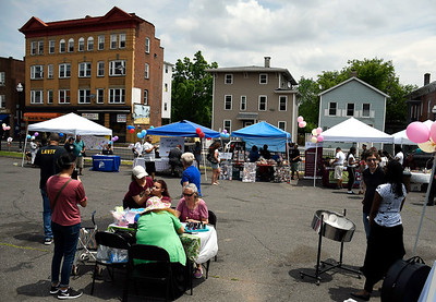 6/2/2018 Mike Orazzi | Staff The Arch Street Neighborhood Revitalization Zone Build-A-Better-Block celebration held on Arch Street Saturday afternoon.