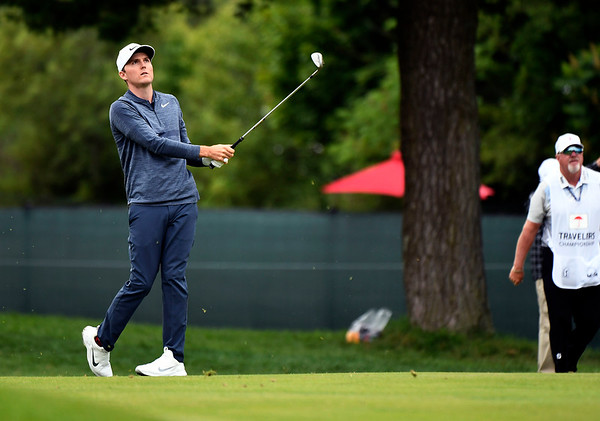 6/23/2018 Mike Orazzi   Staff Russell Henley during the 2018 Travelers Championship at TCP River Highlands Saturday in Cromwell.