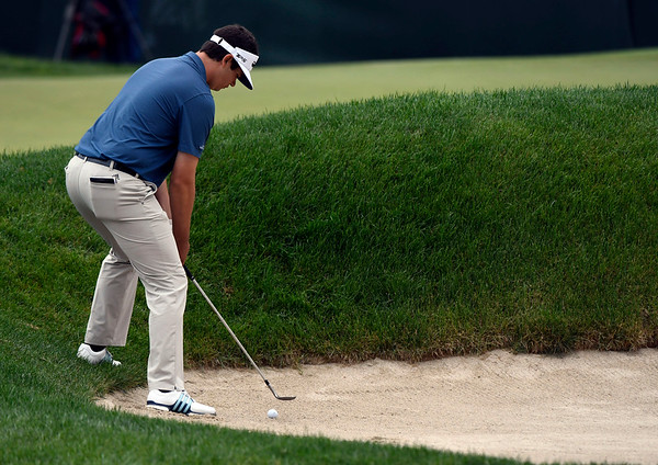 6/23/2018 Mike Orazzi   Staff Beau Hossler during the 2018 Travelers Championship at TCP River Highlands Saturday in Cromwell.