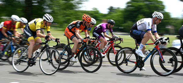 6/9/2018 Mike Orazzi   Staff Cyclists during the Nutmeg State Games Cycling Criterium held in Walnut Hill Park in New Britain Saturday.