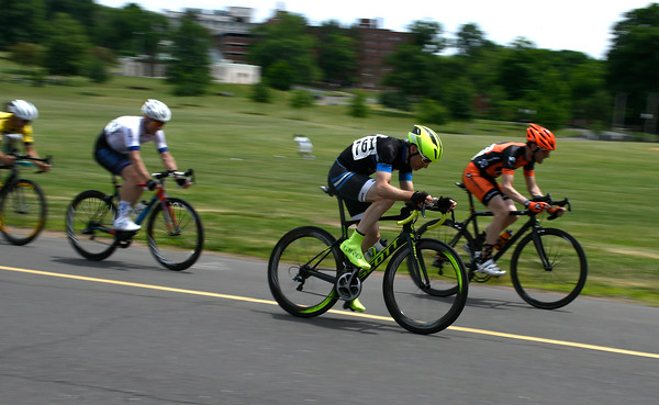 6/9/2018 Mike Orazzi | Staff Cyclists during the Nutmeg State Games Cycling Criterium held in Walnut Hill Park in New Britain Saturda