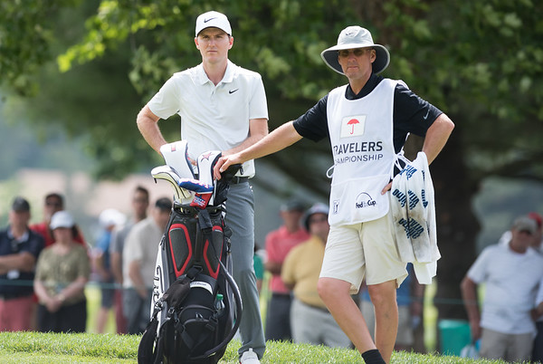 06/24/18 Wesley Bunnell | Staff The final day of The Travelers Championship at TPC River Highlands in Cromwell on Sunday June 24. Russell Henley finished T6 with a -13.