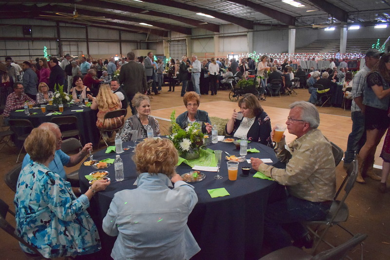 Guests at the Sterling Community Fund Gala enjoy food and drinks from over 20 food and drink sponsors. June 1, 2019