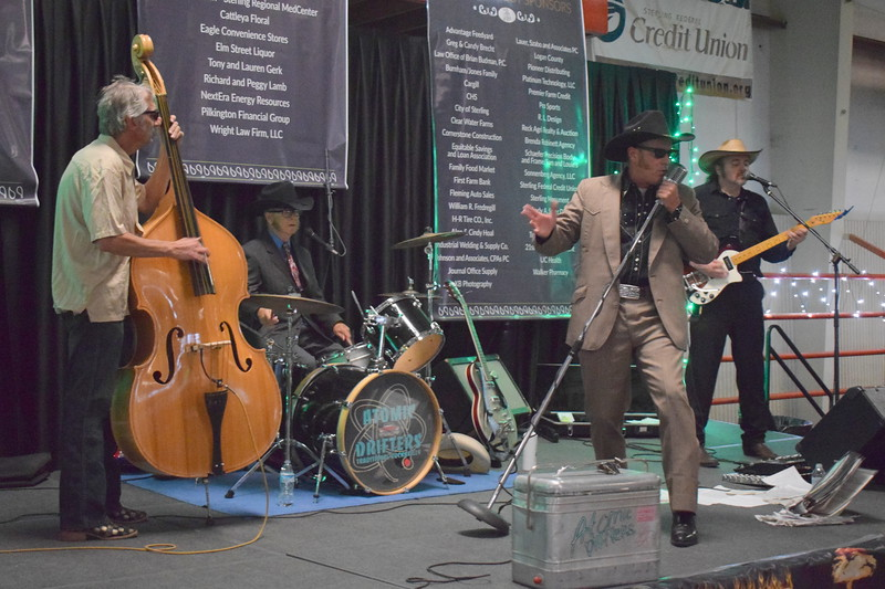 The Atomic Drifters perform at the Sterling Community Fund Gala June 1, 2019.
