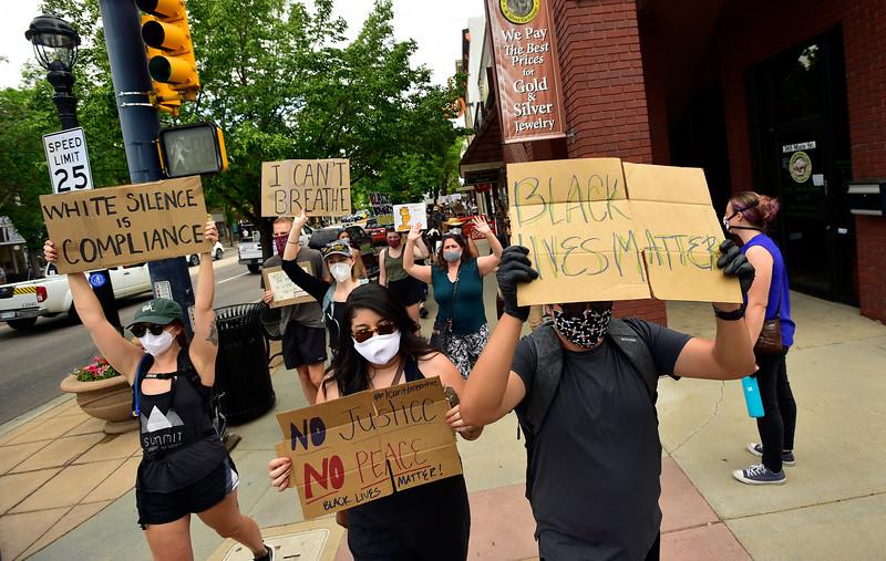 Longmont Black Lives Matter Protest