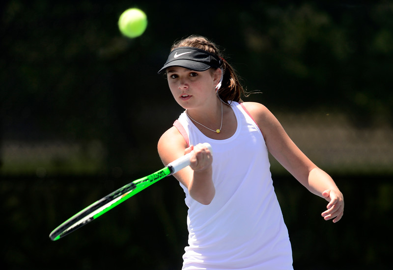 5A Girls State Tennis Day 1